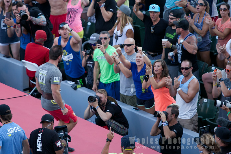 Froning Wins the Heat!
