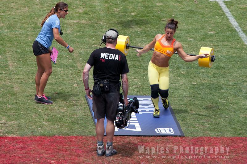 Rachel Martinez Losing It On the Last Step!