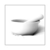 Bowl and pestle