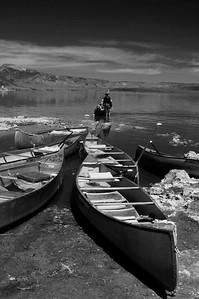 Canoes Mono Lake