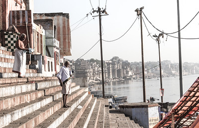 Jane L ~ 10 Feb ~ The Ghats @ Varanasi