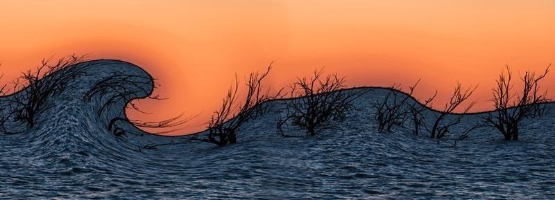 Menindee Lake sunset