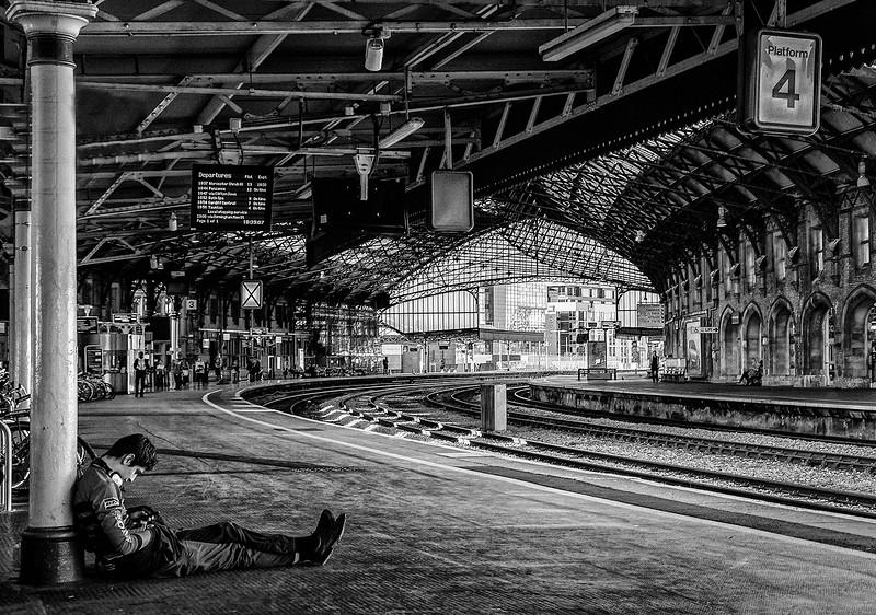 Waiting At Platform 4