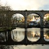 Knaresborough Bridge Reflections