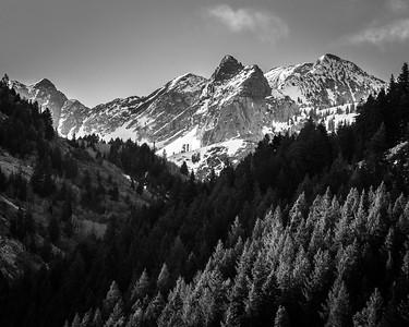 Kessler Peak on Easter Morning