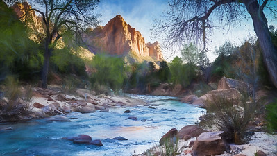 3-Intermediate-Altered_Reality-DNP-Jeri_Abel-The_Watchman_Pastel_Photo_Painting