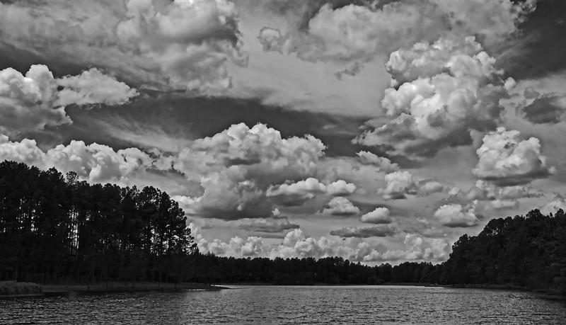 CLO-A-Bill Bower-Clouds over Pinewild Lake