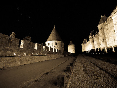 Ramparts at Night