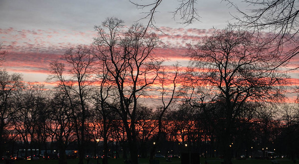 Clapham Sunset