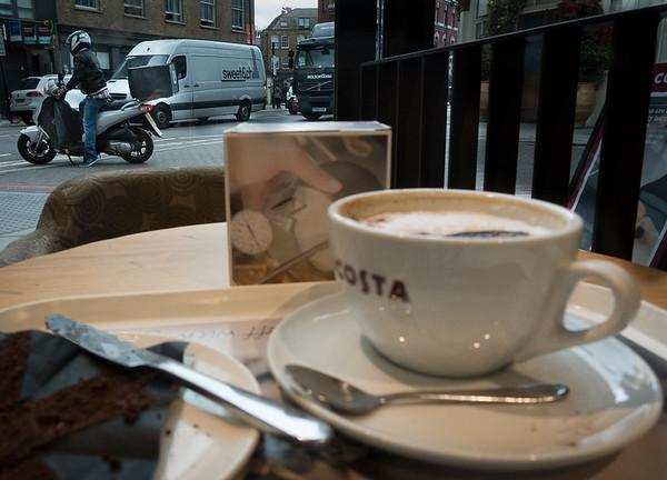 Coffee break in the City
