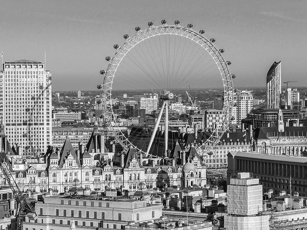 London Eye and Shadow