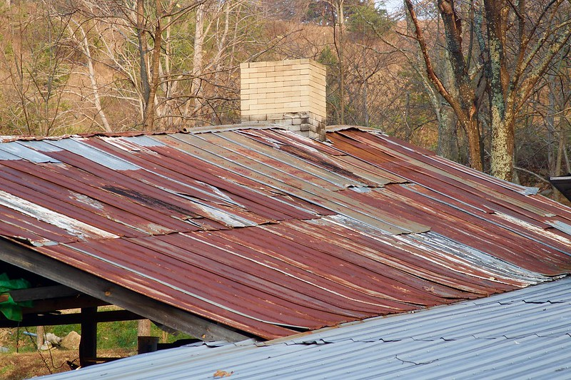 Rust-B-Jerry Kozel-Kiln Roof