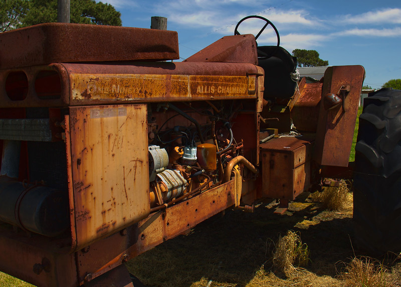 Rust-A-Bill Bower-Retired Workhorse