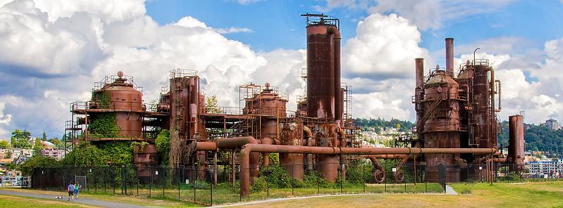 Rust-C-Tobé Saskor-Old Gas Works Park, Seattle