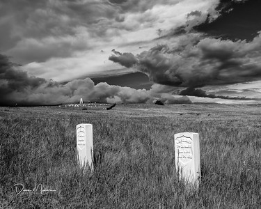 Lonely Sentinels, Little Bighorn National Monument, Montana, May 2016