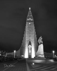 Hallgrímskirkja, Reykjavík, Iceland, September 2016