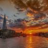 Thames Sunset From Tower Bridge