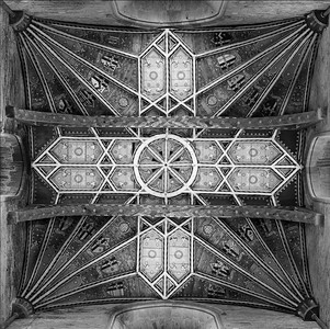 Roof Detail - Quire St David's Cathedral