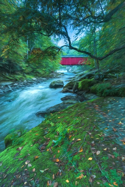 5-Master-Altered_Reality_1_entry_only_in_this_category-DNP-Charli_Bova-Enchanted_Forest_Covered_Bridge