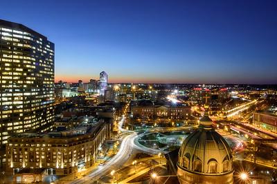 Philadelphia Downtown Traffic Trails