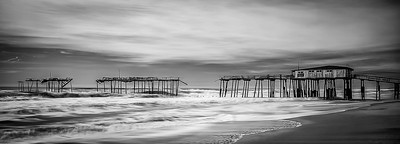 B&W-A-HM-Jim Brown-Frisco Pier