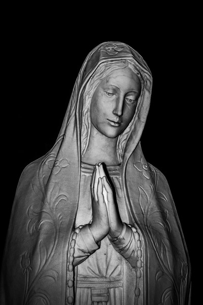 B&W-A-Steve Hoadley-Mother Mary