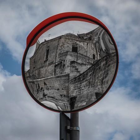 Matera reflected