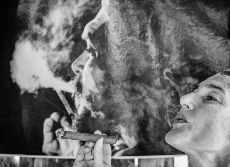 OPEN-A-Gisela Danielson-Smokin' with Che
