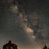 OPEN-A-HM-John German-Milky Way over Bell Rock