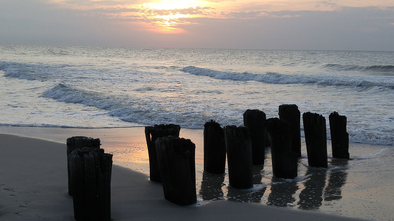 OPEN-B-Nancy Brown-Morning at Carolina Beach
