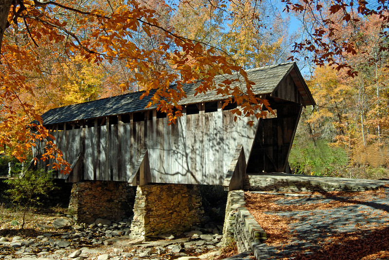 OPEN-A-Don Hiscott-Pisgah Covered Bridge
