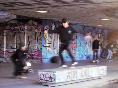 Skateboarding championship