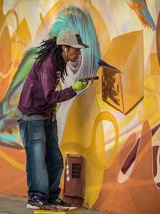 Graffiti in action