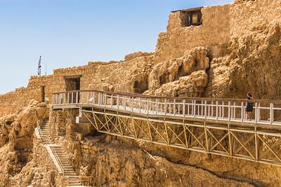 Walking to Herod's Palace