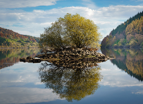 The Island, Lake Vyrnwy