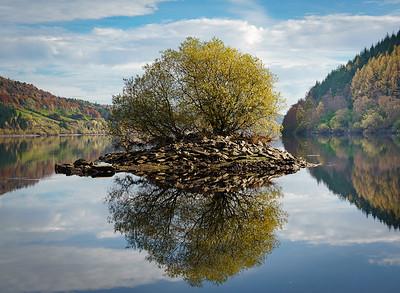 The Island, Lake Vyrnwy