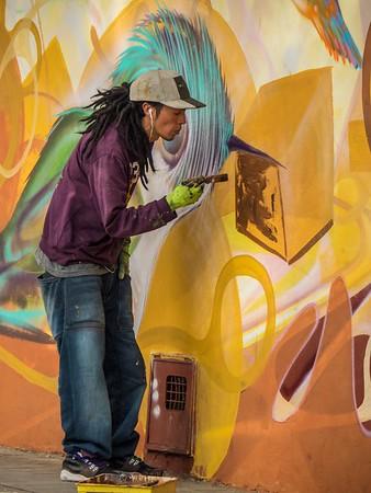 Grafitti in Action