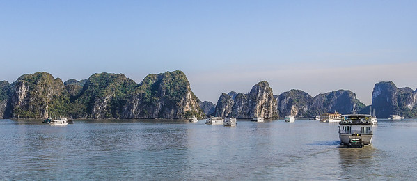 Converging on Halong Bay