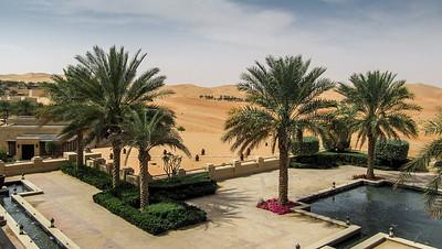 A Village Settlement in the Desert