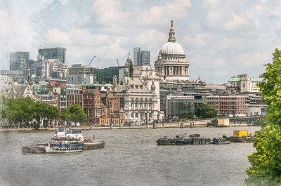 On The Thames, St. Pauls