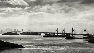 Great Seto Bridge, Shikoku, Japan