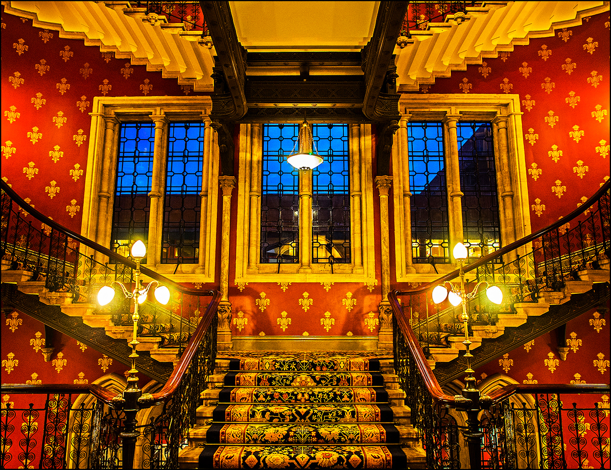A Regal Staircase
