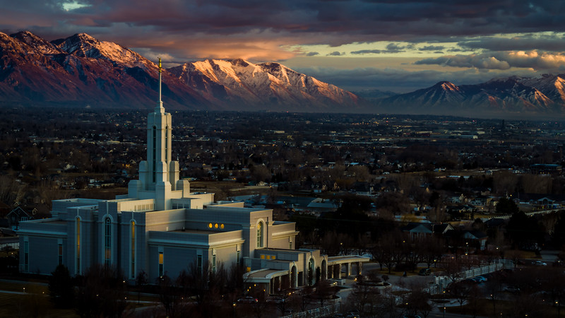 4-Advanced-Assigned_-_50mm_Focal_Length-DNP-Drew_Armstrong-Alpenglow_on_Timpanogos_Aerial