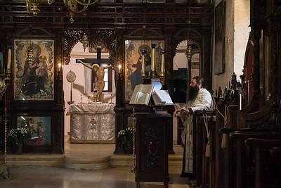 Prayer - a Cretan Monastery