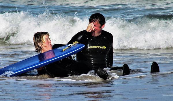 Fun in the surf