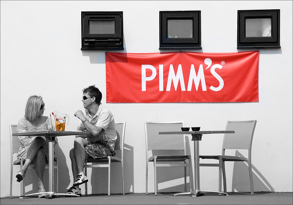 It's Pimms O'Clock