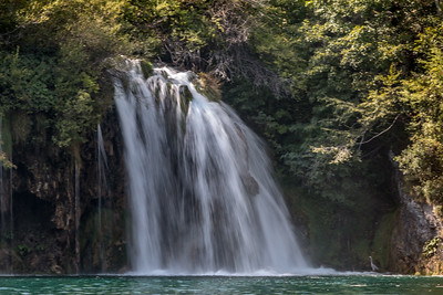 Waterfall, Plitfice National Park, Croatia