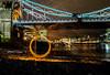 Fire Spinning @TOWER BRIDGE