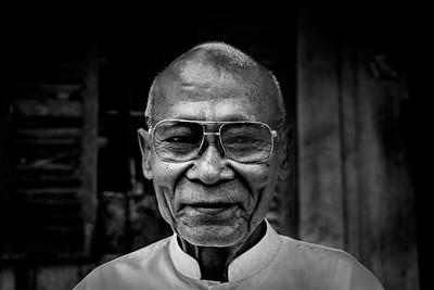 Cambodian old man