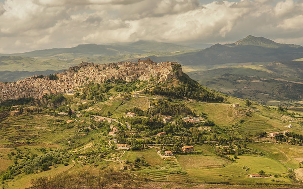 View from Enna, Sicily